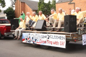 Gleemen at the 2013 Eugene Celebration Parade