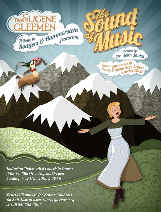 Join us on Sunday, May 17th as  we celebrate the music of Rodgers and Hammerstein